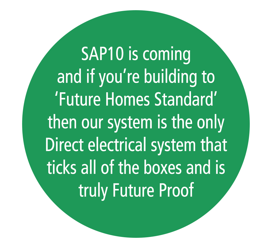 Sap 10 green bubble graphic